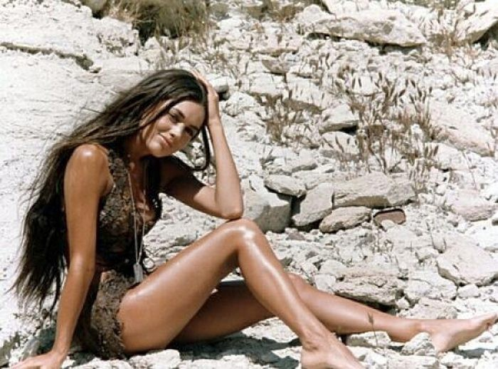 "Linda Harrison as ""Nova"" in The Planet of the Apes"